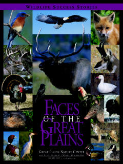 Faces of the Great Plains - Great Plains Nature Center - Poster