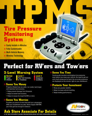 Tire Pressure Monitoring System - Poster